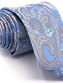 baratos Gravatas e Gravatas Borboleta-Homens Trabalho Gravata - Básico Floral / Estampa Colorida / Jacquard
