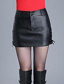 abordables Pantalones para Mujer-Mujer Bonito Tallas Grandes Vaqueros Pantalones - Un Color