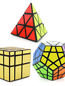 billige Herrebukser-Rubiks terning 3 stk Shengshou Pyraminx Alien MegaMinx Let Glidende Speedcube Magiske terninger Puslespil Terning Professionelt niveau Hastighed Klassisk & Tidløs Børne Voksne Legetøj Drenge Pige Gave