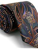 halpa Miesten alusvaatteet ja sukat-Miesten Toimisto Solmio - Geometrinen Color Block Jakardi Perus Raion