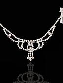 billige Sexet dametøj-Legering Hovedkæde med 1 Bryllup / Speciel Lejlighed Medaljon