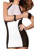 cheap Women's Nightwear-Women's Ultra Sexy Nightwear - Mesh, Color Block