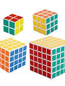 baratos Biquínis e Roupas de Banho Femininas-Rubik's Cube shenshou 2*2 5*5*5 4*4*4 3*3*3 2*2*2 Cubo Macio de Velocidade Cubos mágicos Cubo Mágico Nível Profissional Velocidade Dom