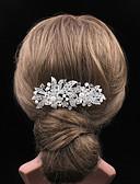 billige Moderigtige hårsmykker-Dame Vintage Fest Hårkam - Sølv