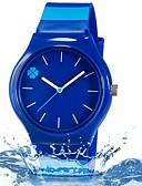 preiswerte Modische Uhren-Armbanduhr Cool / Mehrfarbig Plastic Band Blätter / Süßigkeit / Freizeit Blau