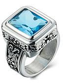 preiswerte Armband-Uhren-Herrn Statement-Ring - Personalisiert, Retro, Modisch 7 / 8 / 9 Schwarz / Rot / Blau Für Alltag / Normal