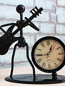 billige Brudepikekjoler-vintage jern band musikk vekkerklokke håndverk housewarming gave