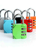 cheap Men's Jackets & Coats-Luggage Lock 3 Digit Anti-theft Luggage Accessory For Luggage