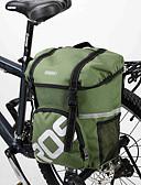 رخيصةأون ملابس داخلية وجوارب للرجال-Rosewheel 15 L حقيبة جذع الدراجة / حقيبة الكتف مقاوم للماء, يمكن ارتداؤها, مقاومة الهزة حقيبة الدراجة PVC / 600D بوليستر حقيبة الدراجة حقيبة الدراجة أخضر / الدراجة