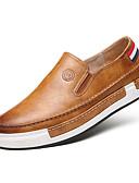 ieftine Șosete & Ciorapi-Bărbați Pantofi Imitație Piele Primăvară / Toamnă Confortabili Mocasini & Balerini Plimbare Gri / Galben / Maro / Comfort Loafers