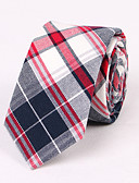 cheap Men's Ties & Bow Ties-Men's Party Work Basic Necktie - Striped