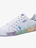 رخيصةأون قبعات نسائية-للجنسين PU ربيع / خريف مريح أحذية رياضية ضد الزحلقة أسود / أخضر / أزرق