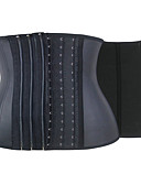 abordables Corsets & Bustiers-Crochet Serre Taille - Couleur Pleine Femme