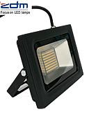 お買い得  ドレスウォッチ-zdm 60w 3518x288pcs 5800lm防水IP65超薄型屋外ライトキャストライト暖かい白/コールドホワイト(ac170-265v)
