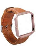 preiswerte Krawatten & Fliegen-Uhrenarmband für Fitbit Blaze Fitbit Sport Band Leder Handschlaufe