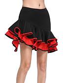 ieftine Ținută Dans Latin-Dans Latin Fustă Pentru femei Antrenament Viscoză Natural Fustă / Sală de bal