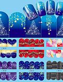 voordelige Jongensjacks & jassen-12 pcs Modieus Wateroverdracht Sticker Dagelijks