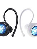 זול קווארץ-באוזן אלחוטי אוזניות פלסטי נהיגה אֹזְנִיָה מיני / עם בקרת עוצמת הקול / עם מיקרופון אוזניות