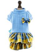 preiswerte Hochzeit Schals-Hund Kleider Hundekleidung Schleife Rose Rot Blau Baumwolle Kostüm Für Haustiere Damen Niedlich Modisch Neujahr