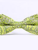 baratos Gravatas e Gravatas Borboleta-Homens Festa Trabalho Básico Algodão, Gravata Borboleta Quadriculada
