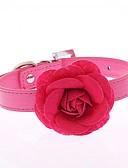 abordables Relojes Brazalete-Gato Perro Cuello Ajustable / Retractable Carrera Manos Libres Casual Cosplay Flor Cuero de PU Morado Rosa Rojo Azul Rosa