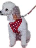 billige Skjørt-Hund Seler Hundebånd Justerbare / Uttrekkbar Pustende Myk Verneutstyr Løp Vest Fritid Cosplay Ensfarget Tøy Net Svart Rød Blå Rosa