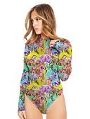 preiswerte Kleideruhr-Damen Boho Jumpsuit - Druck