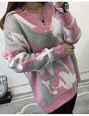preiswerte Damen Pullover-Damen Party Langarm Pullover-Galaxis V-Ausschnitt