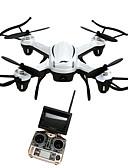 tanie Koszulki i tank topy męskie-RC Dron JJRC H32GH 4 kalały Oś 6 5.8G Z kamerą HD 2.0MP Zdalnie sterowany quadrocopter Lampy LED / Powrót Po  Naciśnięciu Jednego Przycisku / Auto-Startu Zdalnie Sterowany Quadrocopter / Aparatura