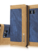 povoljno Maske za mobitele-Θήκη Za Samsung Galaxy S7 edge / S7 / S6 edge Novčanik / Utor za kartice / sa stalkom Korice Jednobojni Tvrdo Tekstil