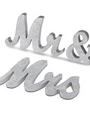 cheap Wedding Dresses-Material Wood Table Center Pieces - Non-personalized Placecard Holders Others Tables 3 Spring Summer Fall Winter All Seasons