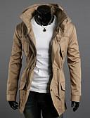 tanie Męskie kurtki i płaszcze-Codzienne Praca