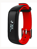 cheap Smart Activity Trackers & Wristbands-Smart Bracelet Smartwatch P1 for iOS / Android Heart Rate Monitor / Blood Pressure Measurement / Calories Burned / Long Standby / Touch Screen Sleep Tracker / Sedentary Reminder / Find My Device