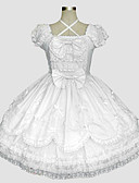cheap Historical & Vintage Costumes-Sweet Lolita Dress Rococo Women's Dress Cosplay Short Sleeve Long Length