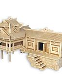 رخيصةأون ساعات سوار-تركيب خشبي الزراعة الصينية بيت المستوى المهني خشبي 1pcs للأطفال صبيان هدية