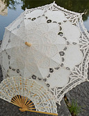baratos Vestidos para Madrinhas-Handle post Renda Casamento Praia Guarda-chuva Guarda-Chuvas 30.7polegadas (Aprox.78cm)