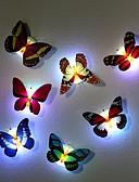 preiswerte Mantel & Trenchcoat-7 Farbwechsel Schmetterling führte Nachtlicht Lampe hohe Qualität