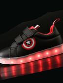 preiswerte Damen Nachtwäsche-Jungen Schuhe PU Frühling Sommer Komfort / Leuchtende LED-Schuhe Sneakers LED für Weiß / Schwarz