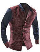 cheap Men's Shirts-Men's Cotton Shirt - Polka Dot