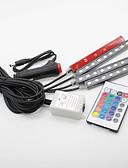 baratos Relógios da Moda-SO.K Carro Lâmpadas 4 W SMD 5050 300 lm LED Iluminação interior