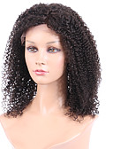 cheap Men's Downs & Parkas-Human Hair Glueless Full Lace / Full Lace Wig Afro Wig 130% Natural Hairline / African American Wig / 100% Hand Tied Women's Short / Medium Length / Long Human Hair Lace Wig