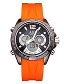 ieftine Rochii de Banchet-ASJ Bărbați Ceas digital Japoneză Calendar / Rezistent la Apă / Cool Silicon Bandă Casual / Modă Negru / Orange