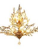 abordables Tops de Mujeres-LightMyself™ 8-luz Cristal Lámparas Colgantes Luz Ambiente - Cristal, LED, 110-120V / 220-240V Bombilla no incluida / 15-20㎡ / E12 / E14