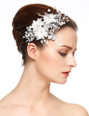 cheap Quartz Watches-Imitation Pearl / Lace / Rhinestone Flowers / Hair Clip with 1 Wedding / Special Occasion Headpiece