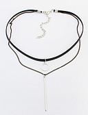 billige Sportsur-Dame Kort halskæde / Tatovering Choker - Tatovering, Europæisk, Mode Sølv Halskæder Til Daglig