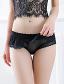 cheap Women's Sexy Clothing-Ultra Sexy Panties - Mesh, Solid Colored High Waist