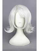 cheap Women's Dresses-Synthetic Wig / Cosplay & Costume Wigs Straight Synthetic Hair Gray Wig Women's Short Capless