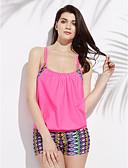abordables Biquinis y Bañadores para Mujer-Mujer Floral Multi-pieza - Estampado Halter / Look deportivo