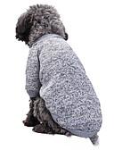 baratos Blazers Femininos-Gato Cachorro Casacos Camiseta Moletom Roupas para Cães Sólido Vermelho Verde Rosa claro Azul Claro Azul e Azul marinho Lã Polar Algodão