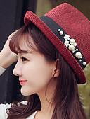 baratos Chapéus de Moda-Mulheres Vintage De Palha Retalhos